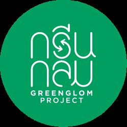 Yindee design GreenGlom logo